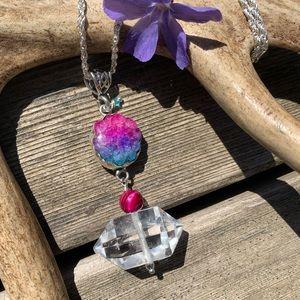 ⭐️SALE! NEW! Quartz/ solar quartz pendant